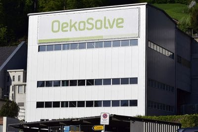 Production building of OekoSolve AG