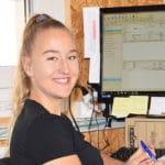 Sina Schweyer: Lernende bei OekoSolve