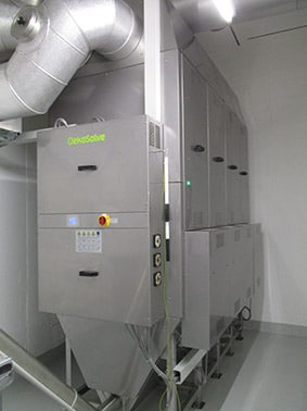 OekoRona M - Particulate separator for wood heating systems up to 3 MW