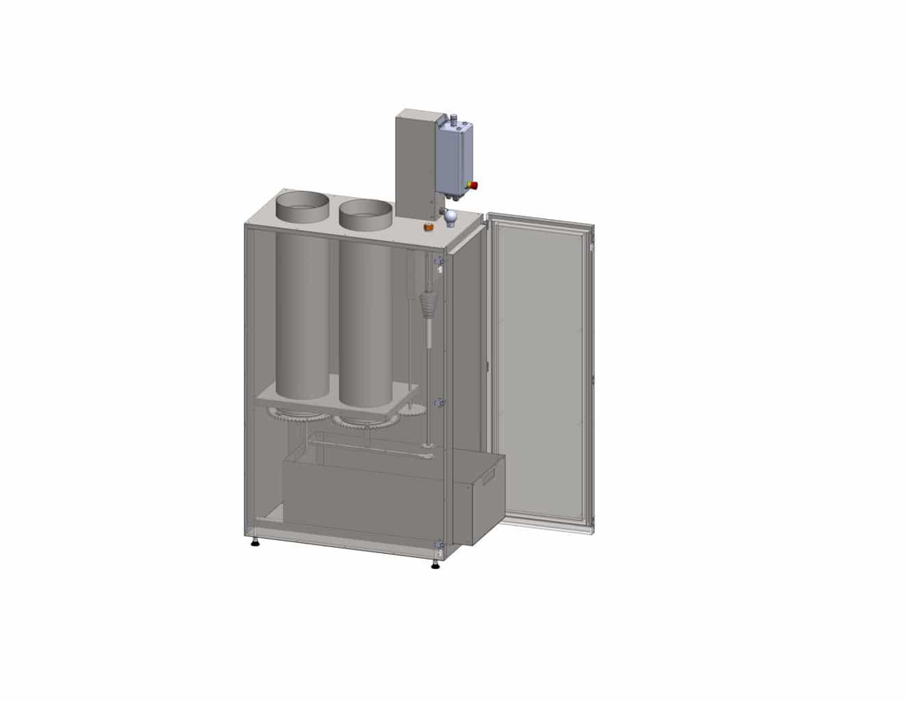Elektrofilter OekoRona - Aufbau und Funktion