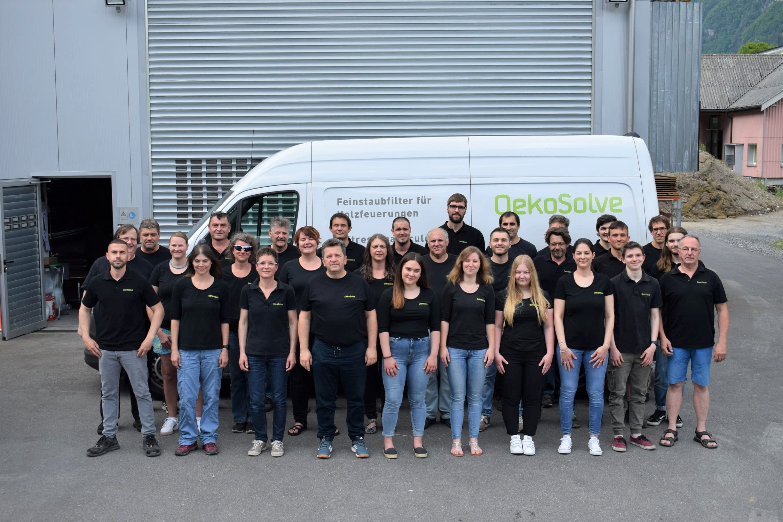 Mitarbeiter von OekoSolve
